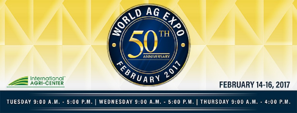 World AG Expo February 2017