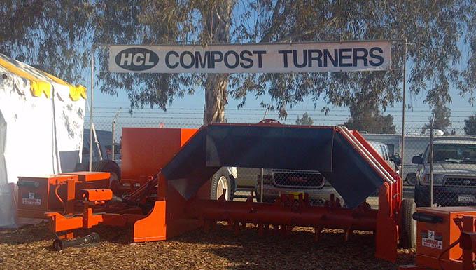 Compost turner.