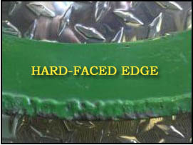Hard-faced Edge