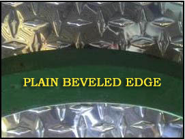Plain Beveled Edge